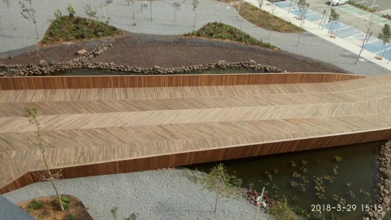 גשר בפארק הסייבר - דק (4)