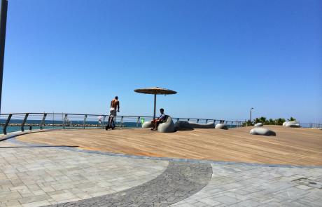 נמל תל אביב – טיילת – דק